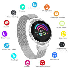 MC11 Watch Heart Rate Blood Pressure Monitoring Waterproof Bluetooth Fitness Pedometer Remote Control Anti-lost Phone Reminder(China)