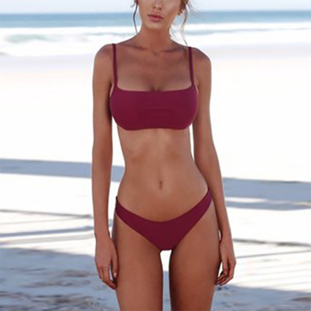 Classic Halter-Top Bikini Set 1