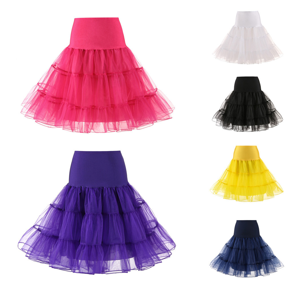 Womens High Quality High Waist Pleated Short Skirt Adult Tutu Dancing Hot Pink Skirt Casual Ball Gown  Sheer Pleated Slim Skirts