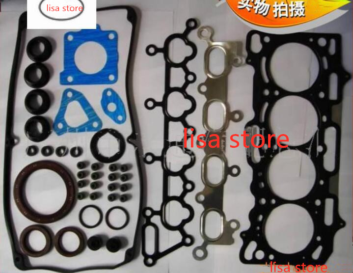 High Quality Engine Gasket Kits  For BYD F3 4G18 Engine
