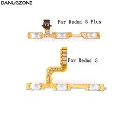 Bouton marche/arrêt Volume muet bouton de commutation câble flexible pour Xiaomi Redmi 5 Plus