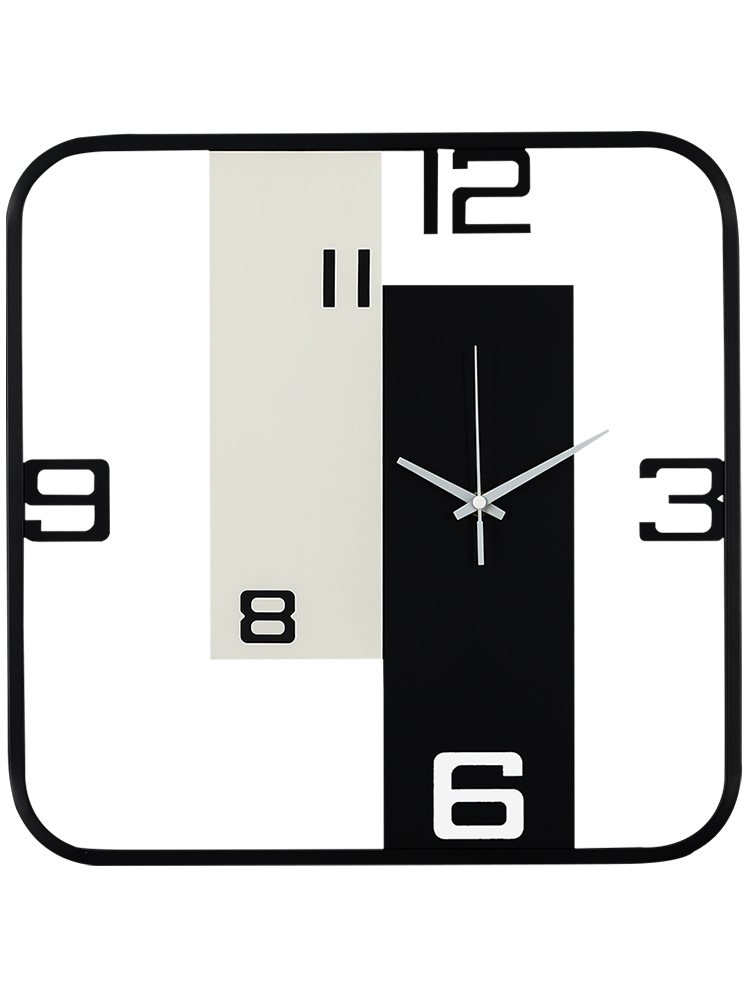 Creative Large Metal Wall Clock Living Room Nordic Style Bedroom Silent Kitchen Clocks Wall Home Decor Duvar Saati Gift FZ616