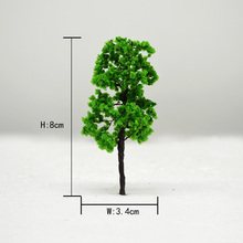 Teraysun 20pcs model wire tree Scale Train Layout Set Model Trees 90/35  for HO N