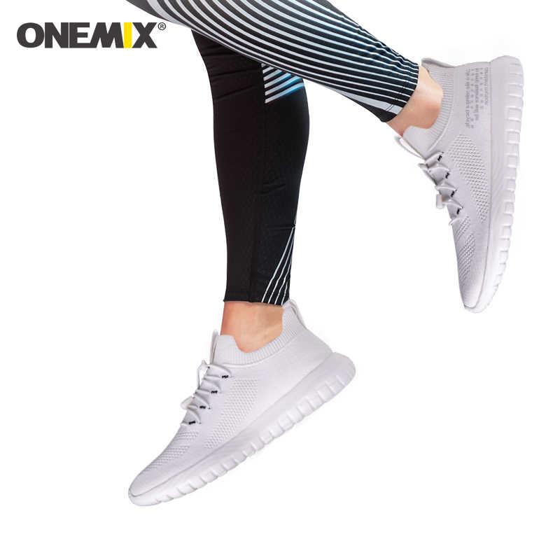 ONEMIXรองเท้าวิ่งผู้ชายฤดูร้อนรองเท้าผู้หญิงรองเท้าผ้าใบกลางแจ้งBreathableตาข่ายน้ำหนักเบาTrainers Joggingเดินรองเท้าเทนนิส