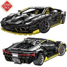 Technische Super Speed Auto Centennial Edition Bausteine MOC Racing Fahrzeug Kit Modell Ziegel Spielzeug für Jungen Geburtstag Geschenk