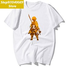 Короткая футболка с героями из японского аниме «cool демон убийца