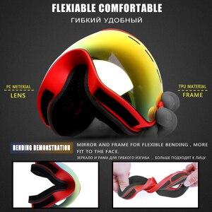 Image 3 - PHMAX להקת סנובורד סקי משקפי כפול שכבות משקפי משקפיים סקי UV400 הגנת שלג סקי משקפיים אנטי ערפל סקי מסכה