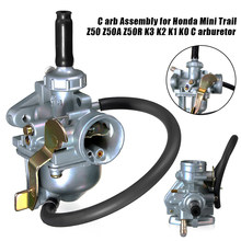 Mais novo 38mm conjunto do carburador para honda mini trail k3 k2 k1 k0 z50 z50a z50r carb atacado