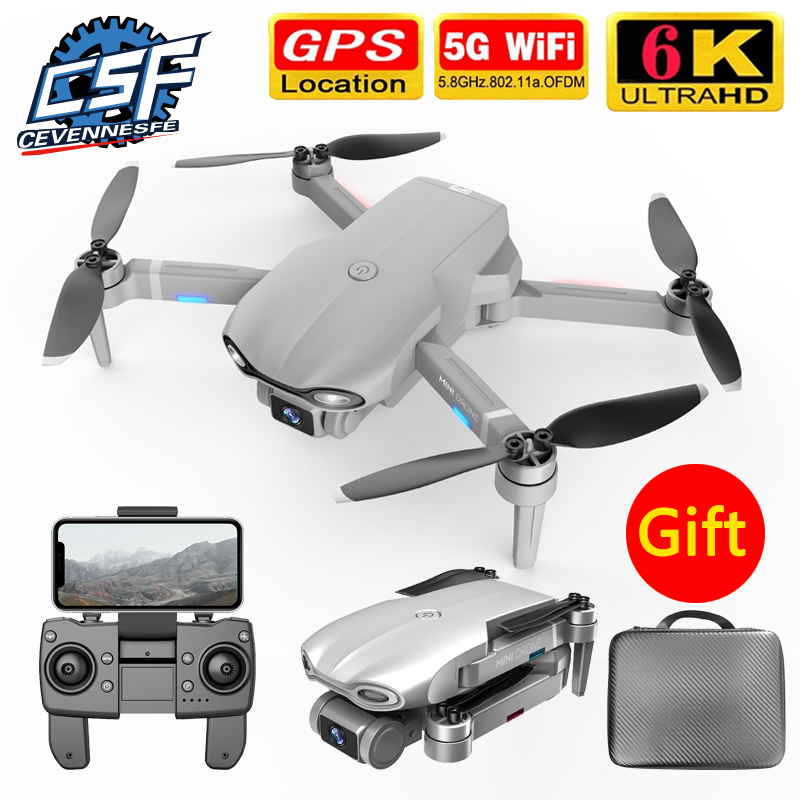 Permalink to 2020 NEW M9968 Drone 5G GPS WIFI 6k HD Mini Camera Pro Fesional 1200 METERS Distance FPV DronesProtable Dron VS EX5 L108 E520S
