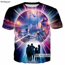 Movie Ready Player One VR Glasses 3D Print Men Women T-shirt Hip Hop Hipster Tshirt Tees Clothes Tops 2018 New Summer T shirts(China)