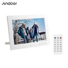 Andoer ips светодиодный цифровой фоторамка настольный электронный альбом с высоким разрешением поддерживает музыку/видео и многое другое с пультом дистанционного управления