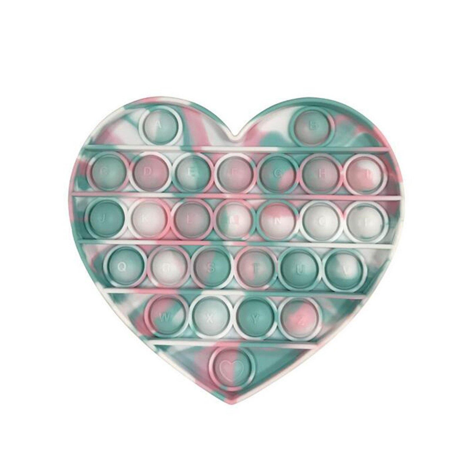 Funny Popit Fidget Toy Antistress Toys For Adult Children Push Bubble Fidget Sensory Squishy Jouet Pour Autiste ??????????* img4