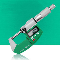 0 25mm Electronic Outer Diameter Micrometer Large LCD Digital Micrometer Stainless Steel Laser Scale Micrometer Digital Caliper|Micrometers|   -