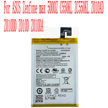 High Quality 5000mAh C11P1508 Battery For ASUS Zenfone max 5000Z C550KL ZC550KL Z010AD Z010DD Z010D Z010DA Cell Phone image