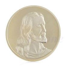 Иисус Тайная вечеря позолоченный Сувенир Монета искусство коллекция коллекционные Рождество