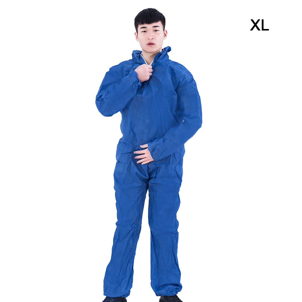 Protective Clothing Work Wear For Man Safety Coveralls Medical Uniforms Isolation Suit Women Coverall Work Wear Siamese