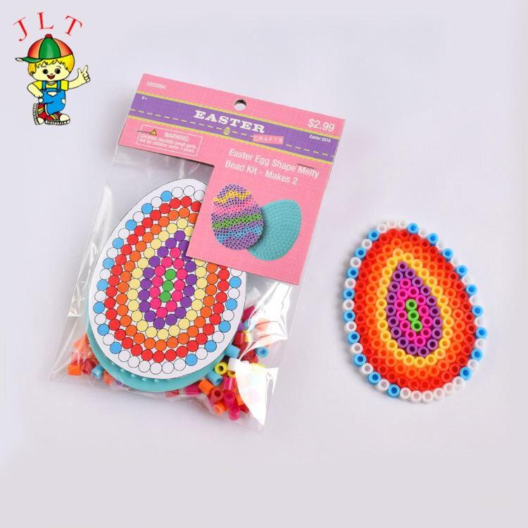 DIY Egg Mode Perler Beads 5mm Hama Beads  Puzzle  Children Toys  Kids Craft  Random Color Pattern