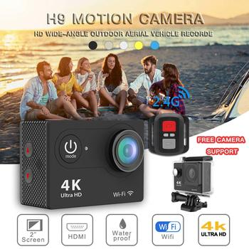 Action Camera 4K 16MP WIFI Underwater Cam Sensor Ultra HD Waterproof sport Camera with Remote Control 170° Wide-angle цена 2017