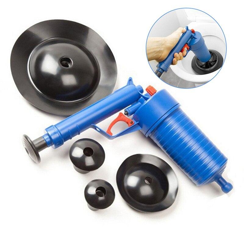 Novo prático de alta pressão onda choque bomba êmbolo mais limpo ferramenta limpeza do banheiro flexível ferramentas limpeza esgoto ferramenta depuração