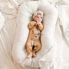 Детская кровать-люлька для новорожденных Cama/cuna Nido Bebe, портативная кровать-гнездо для малышей, дорожная кровать для малышей, лежак Ninho Bebe