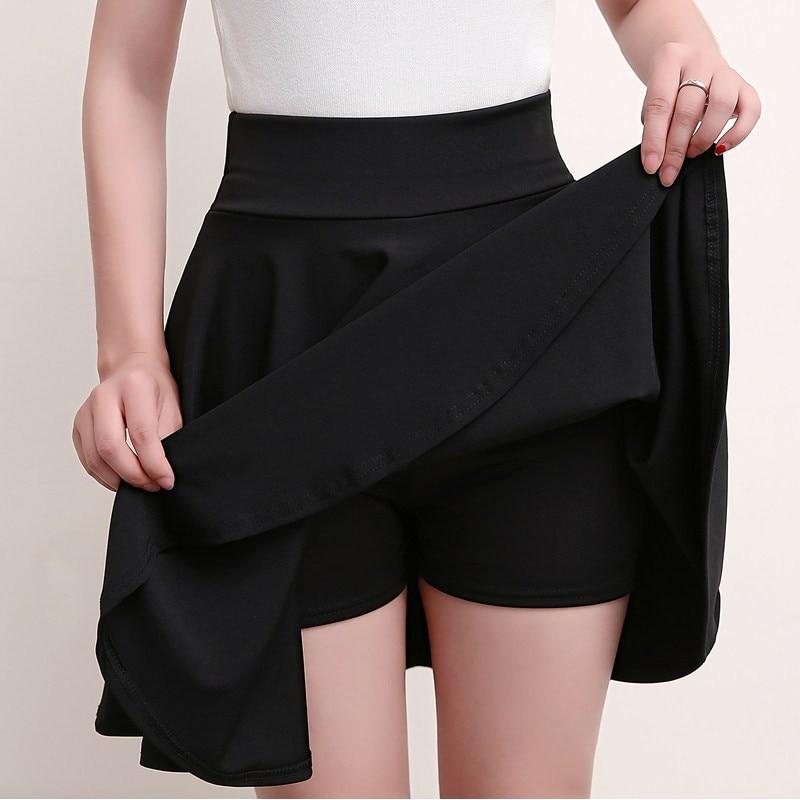 MKMDFME Летняя женская плиссированная юбка Harajuku с высокой талией женские юбки в стиле кэжуал для танцев Корейская Студенческая короткая юбка к...