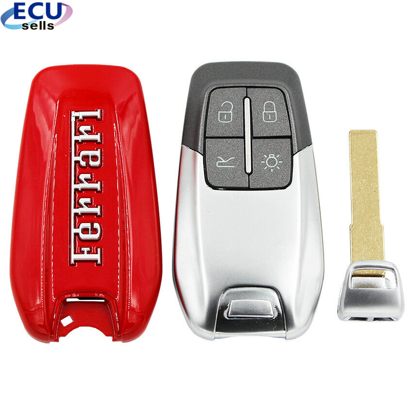Remote-Key-Shell Logo Laferrari for 458 with Best 488GTB 588 High-Quality Luxury title=