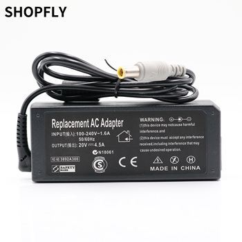 AC Adapter 20V 4.5A 90W 7.9x5.0mm Power Supply Battery Charger for IBM For Lenovo for Thinkpad X61 T61 R61 92P 40Y High Quality 20v 3 25a 65w ac adapter charger for lenovo ibm x60s x61 x61s x200 x200i x200s x201 x201i x201s x220 x220i f25