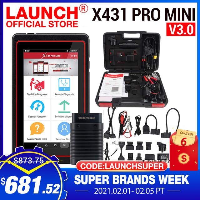 I Pro Mini X431 V del lettore di codice di Bluetooth/Wifi dello strumento diagnostico OBD OBD2 dellautomobile completa del sistema del lancio X431 Pro Mini V3.0 X 431