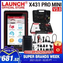 LAUNCH – Système de diagnostic X431 1 Pro Mini V3.0 OBD2, Bluetooth, Wi Fi, avec lecteur de code, scanner, wifi, outils professionnels complets pour voiture, X431 V, OBD