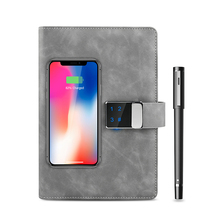 Notebook Usb-Flash-Drive Smart-Pen with Bluetooth-Touch Digital-Lock Handwriting Powerbank