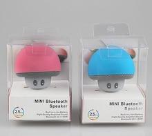 WPAIER Cartoon Mushroom Wireless Bluetooth speaker waterproof sucker mini bluetooth speaker audio outdoor portable Bracket