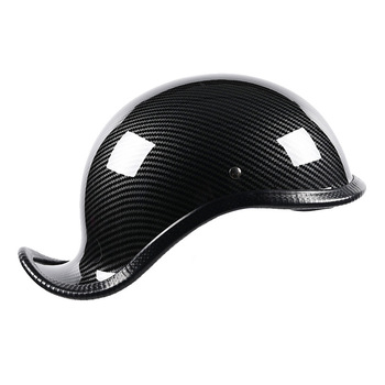 Motorcycle personality Curved Helmet Open Face fashion Retro Helmet For Yamaha XJ650 V-MAX MT-01 TRX850 TRX850 TMAX500 RD500LC image