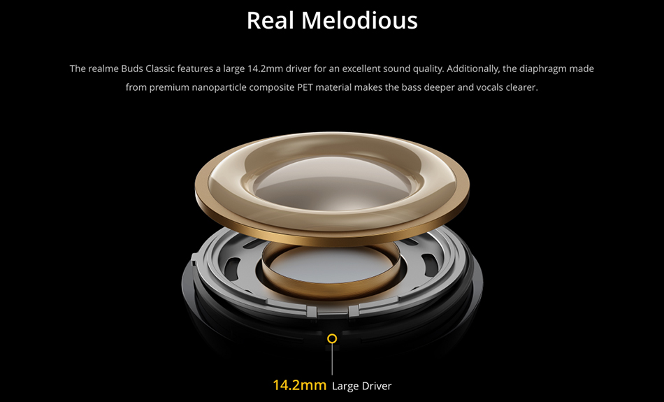Realme Buds Classic Wired Earphones 7