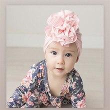 Hats India-Cap Children Summer Beanie Flowers Autumn Baby Cotton Headdress Round-Hat