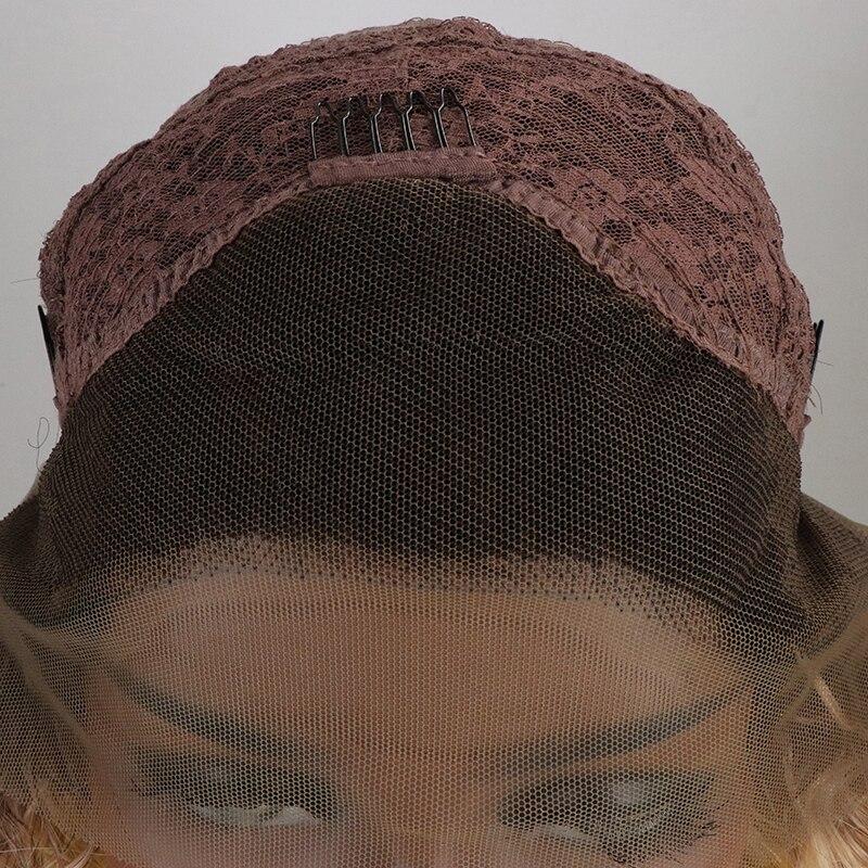 sintéticas dianteira do laço #6 cor para mulher