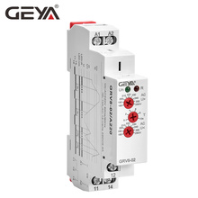 цена на Free Shipping GEYA GRV8-02 Voltage Monitor Device Over-voltage and Under-voltage Protection Relay DC 12V 24V 48V 110V 220V 240V