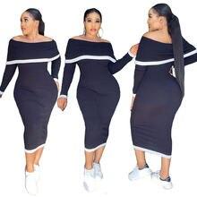 Женское трикотажное платье средней длины echoine черное элегантное