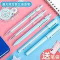 6 состоит из 12 штук  M&G гелевая ручка Morandi Цвет цифровым пером 0 5 мм милые ручки гель кавайные ручки школьные принадлежности