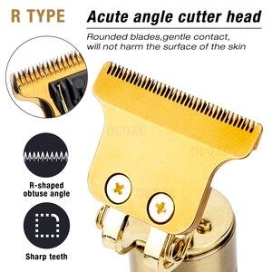 Мужской триммер для волос, профессиональные электрические машинки для стрижки волос, триммер для бороды, Парикмахерская машина для стрижки волос, заряжаемая Мужская бритва
