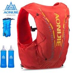 AONIJIE Advanced Skin 12L Hydration Bag Breathable Outdoor Backpack Ultralight Hiking Marathon Running Water Bladder Flask
