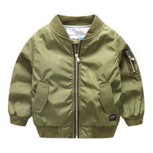 Spring Coat Jacket Baby-Boy Boys Children's New Casual Solid Leisure 2-10-Year-Old