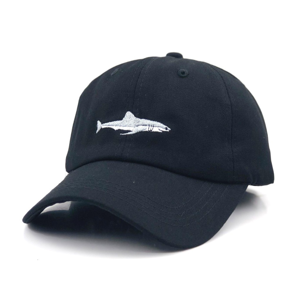 H1f18dfe8d1794067aede7c93ed742537X - which in shower stitched shark snapback man cap baseball cap hip hop embroidery curved strapback dad hat summer fish sun hat cap