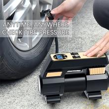 30 Cylinder Car Compressor Tire Pump Heavy Duty Digital Tyre Inflator 12V Super Fast Inflation Auto Air Compressor For Tires SUV