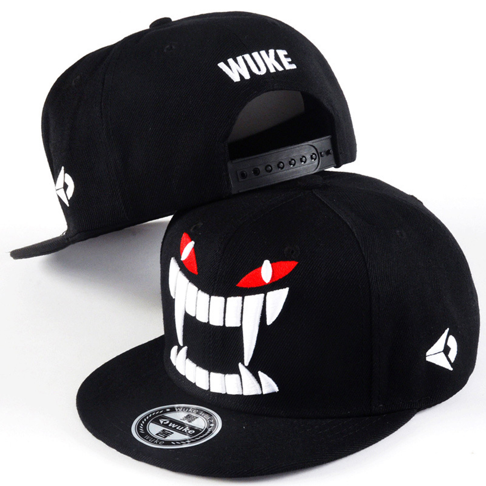Korean Version Of Big Teeth Male Baseball Cap Tide Flat Along Hip-Hop Skateboard Sap Lovers Hat