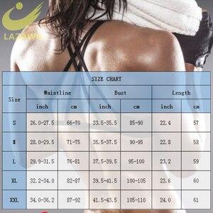 Image 5 - Женский неопреновый жилет LAZAWG, топ для похудения с коротким рукавом для тренировок, термотоп для сауны, топы для сжигания жира, потери веса