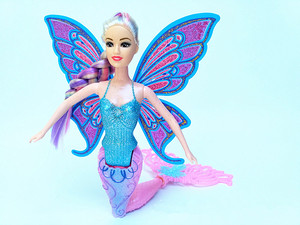 Image 3 - 2020 New Fashion Swimming Mermaid Doll Girls Magic Classic Mermaid Doll With Butterfly Wing Toy For Girls Birthday Gifts