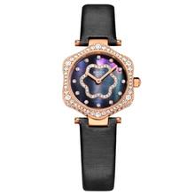 цена BINGER Star Series Women's Waterproof Quartz Watch Austria Rhinestone Watch Women's Watch онлайн в 2017 году