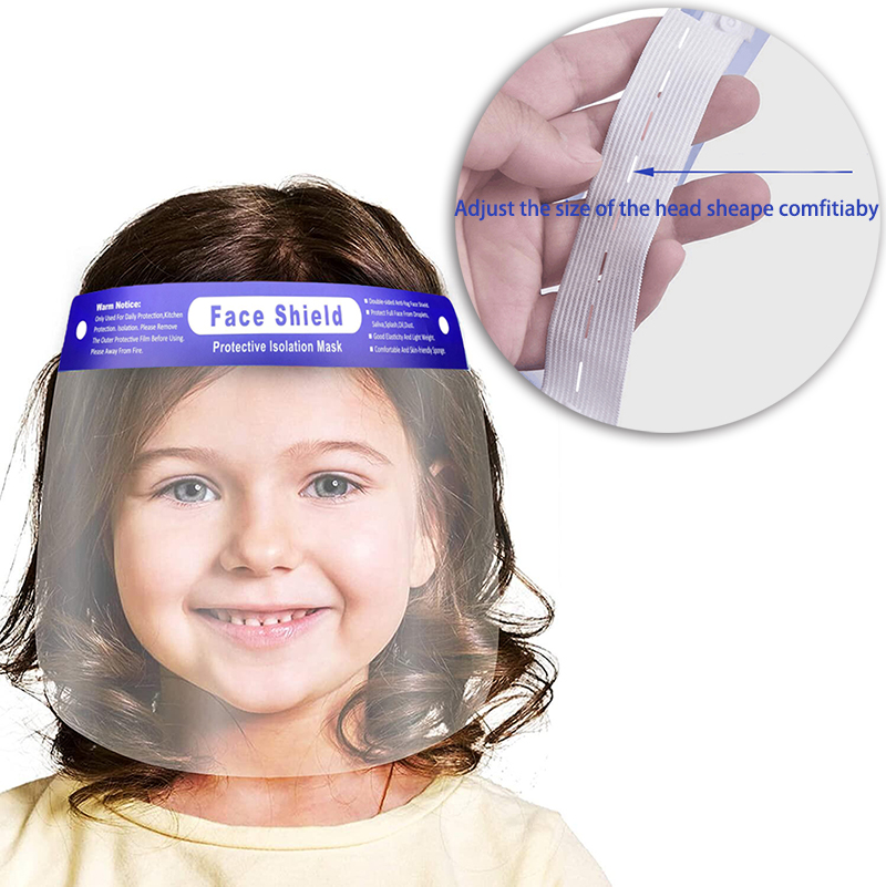Top SaleShip Sheild Plastic Adults In-Stock Kids Full-Faceshield for And Available From-Texas-Usa-Stock