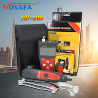Noyafa 300 Lan Tester RJ45 LCD Cable Tester Wire Tracker Tracer Anti interference Network Cable Tester Tool Kit