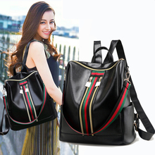 Fashion Pu Leather Women Backpack Black Backpack Women School/Shopping/Travel Shoulder Bag